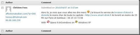 France Spam