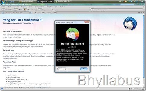 Thunderbird 3.0.5