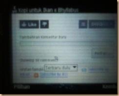 Disqus on Nokia Browser