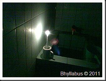 Candle Light Bath