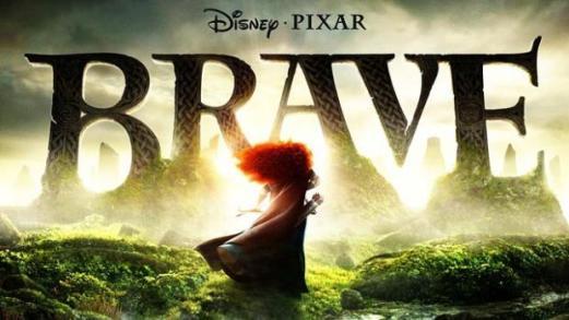"""Poster """"Brave"""" oleh Disney dan Pixar"""