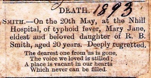 Sertifikasi Kematian Akibat Tifoid